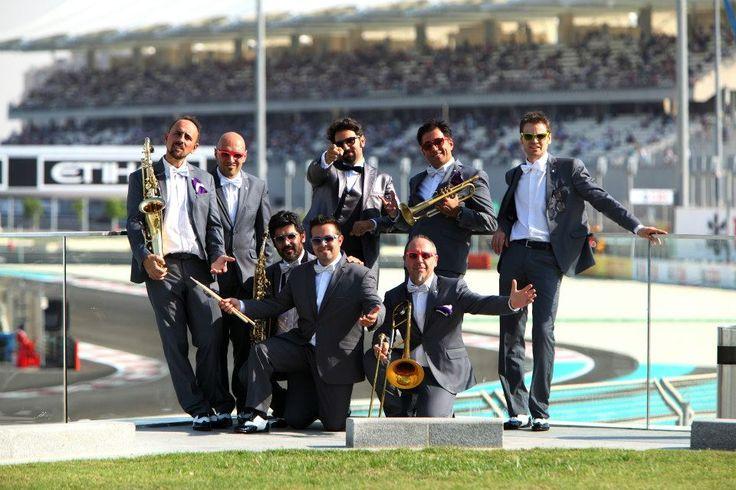 Mark Zitti e i Fratelli coltelli Event for Mumm's  Champagne at F1 Circuit @henryhenryruggeri Pics