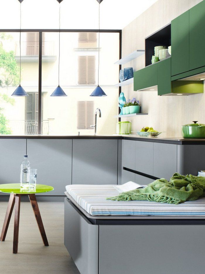 124 best Cocinas en Dos Colores images on Pinterest | Contemporary ...