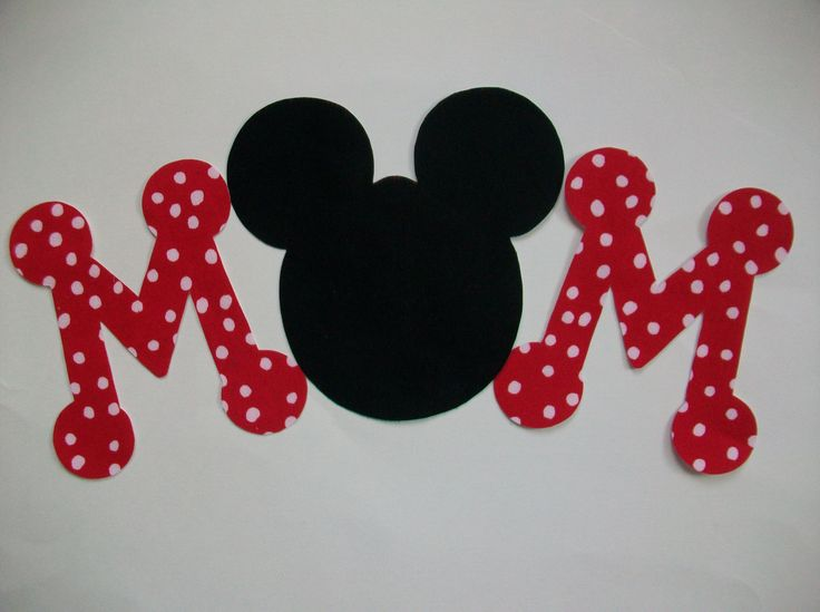 dad diy no sew minniemickey mouse applique and letters iron