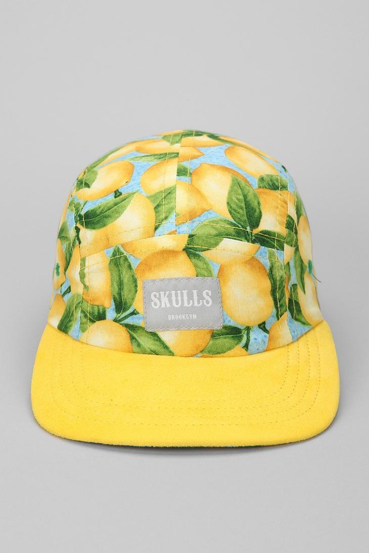 SKULLS Lemonade 5-Panel Hat #urbanoutfitters
