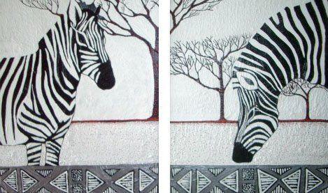 Zebra crossing by Charleen Morris