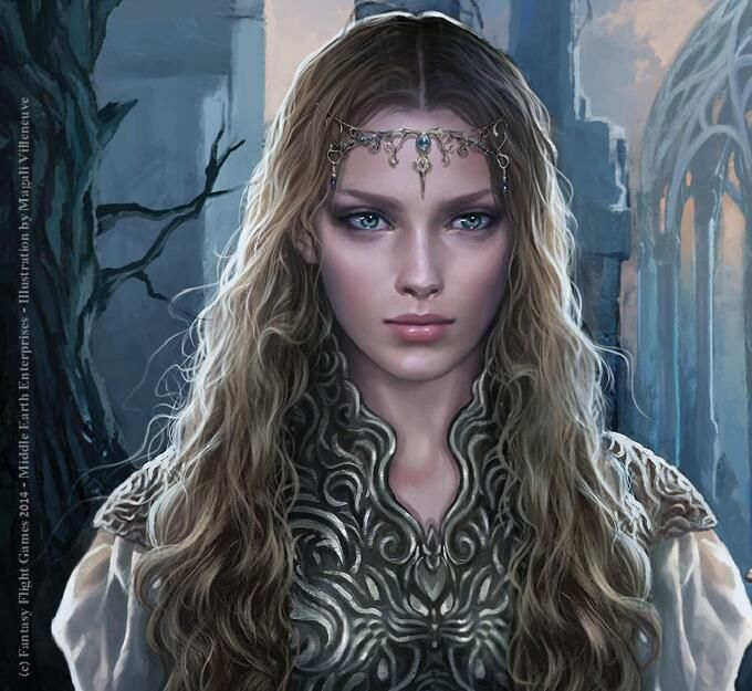 Galadriel: lord of the rings living card game