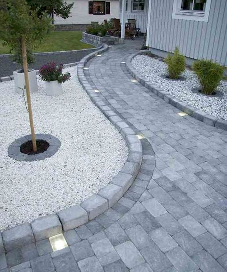 85 Affordable Front Yard Pathway Landscaping Ideas – J
