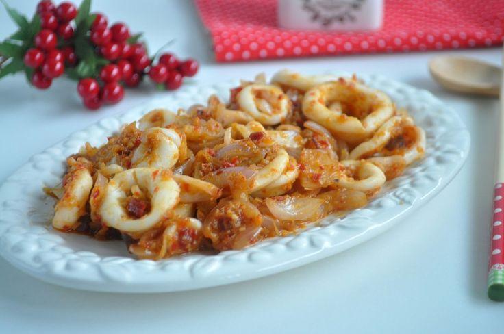 Sambal Sotong (Squid) 叁峇苏东
