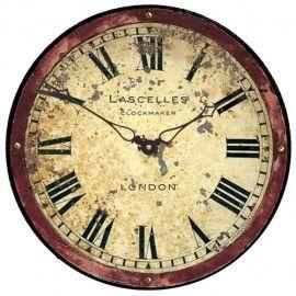 Rusty London Wall Clock 36cm