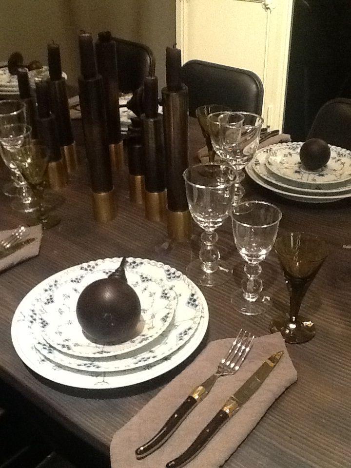 Royal Copenhagen christmas tables 2013 juleborde muselmalet
