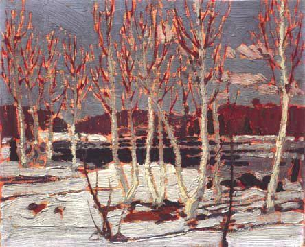 April in Algonquin Park - Tom Thomson