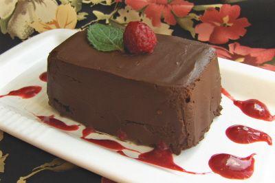 Decadent Chocolate Pâté. Dairy free, vegan, naturally sweetened.