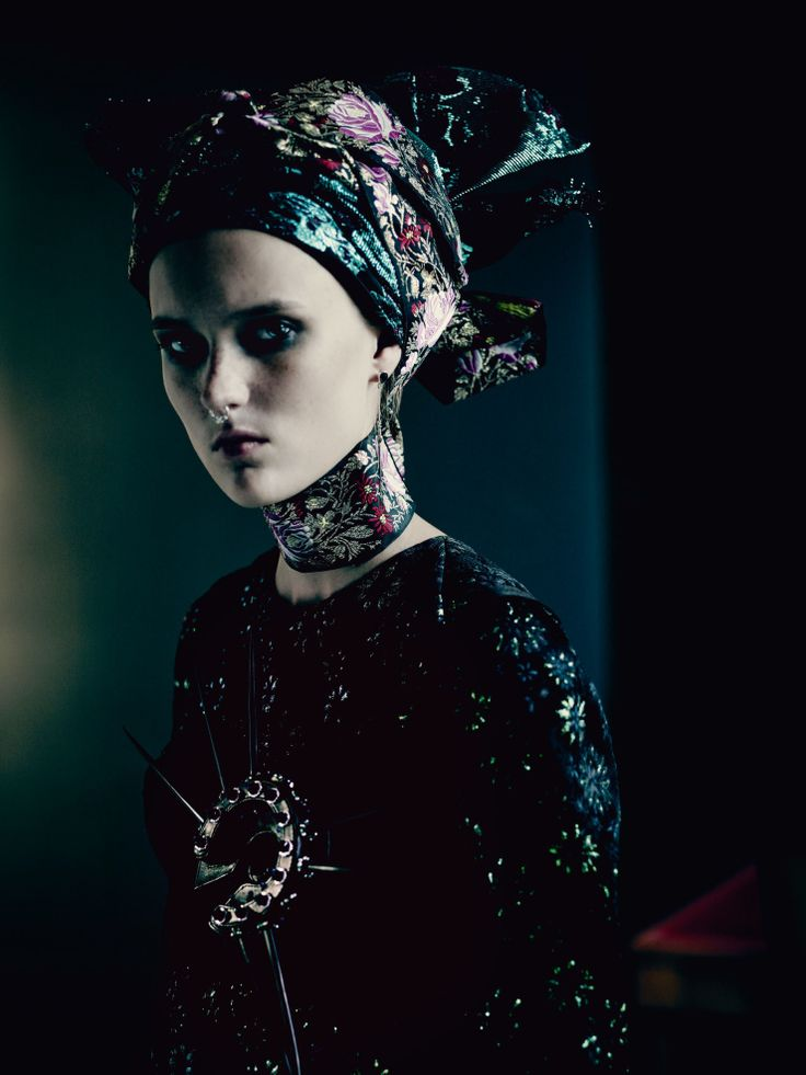 Glam Punk Photoshoot by Paolo Roversi