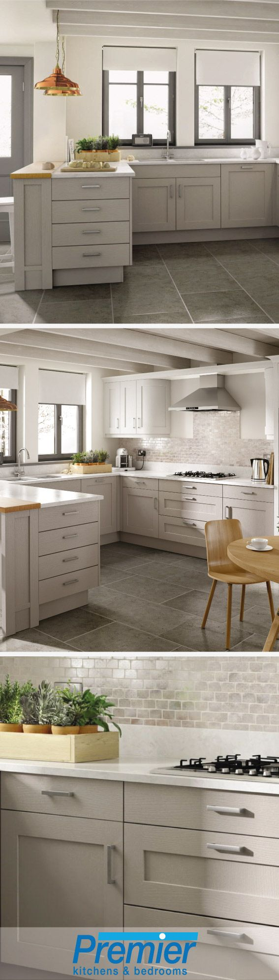 Dabney corner shaker double vanity distressed vinish - Could This Stunning Mornington Shaker Be Your Next Kitchen Whether You Are Looking For A
