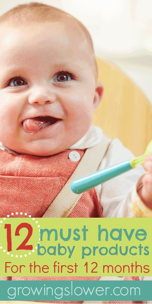 12 Must Have Baby Products For The First 12 Months Baby