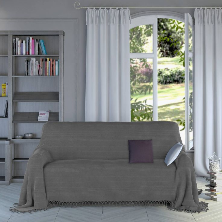 plaid gris pour canap plaid gris pour canape superbe. Black Bedroom Furniture Sets. Home Design Ideas