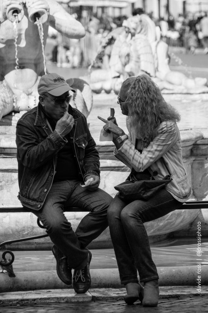 Piazza navona roma - davide rossi street photography
