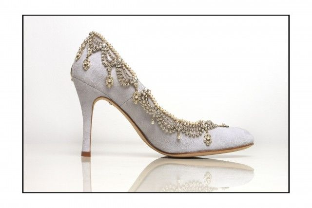 Jewel embellished Emmy  / Andrew Prince Shoes