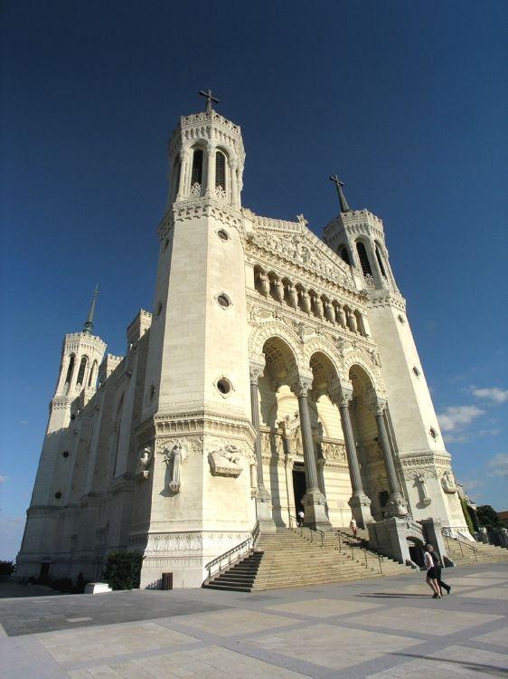 Notre Dame de Fourvière Lyon France