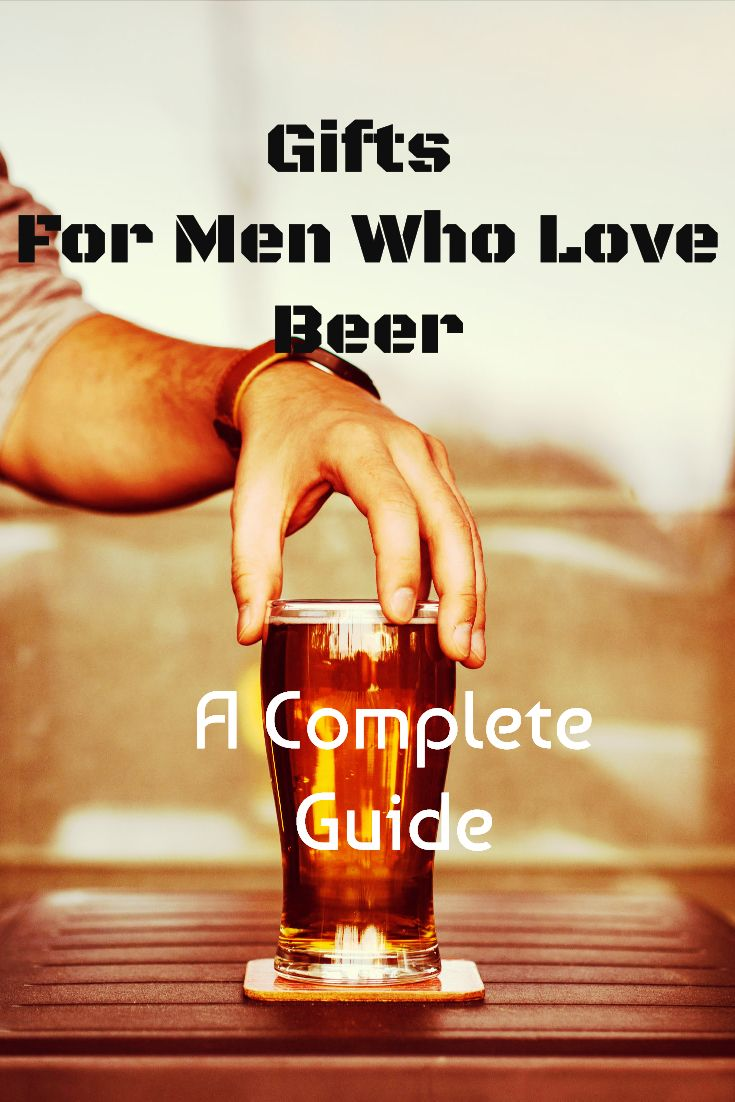 Gifts for men who love beer. Awesome gift ideas for his man cave. Great beer products Dad will love! No matter what kind of beer lover you have, there is a great idea in this gift guide.