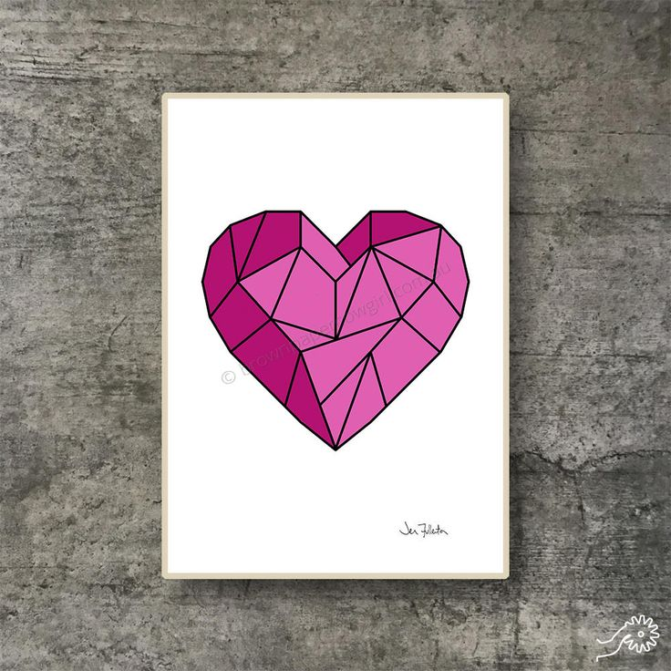 Check out all the Valentine's prints in my #etsy shop: Printable wall art - Downloadable art – Valentines day gift – Heart prints - Art prints - A2 A3 A4 Letter Poster - Geometric art - Romantic http://etsy.me/2nXw8WT #art #print #digital #pink #valentinesday