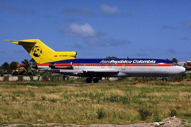 Aero Republica Colombia Boeing 727 46 Copa Airlines Colombia Wikipedia Boeing 727 Aviation Colombia