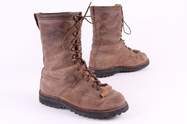 Insulated Leather Hunting Boots Usa Mens 9 Ee Boots Gore