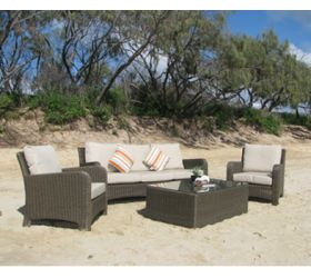 OUTDOOR FURNITURE  'Etro' Outdoor Couch Setting.