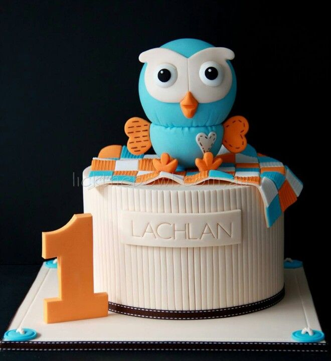 Adorable Hoot cake