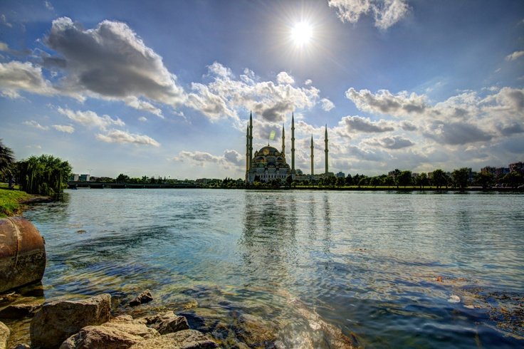 Gorgeous Mosque in Adana, Turkey