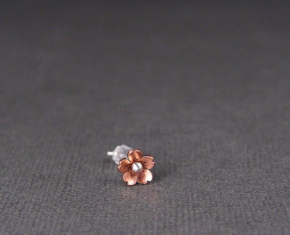 Cherry Blossom Helix Tragus Earring 56mm  POINTED by HapaGirls, $12.00