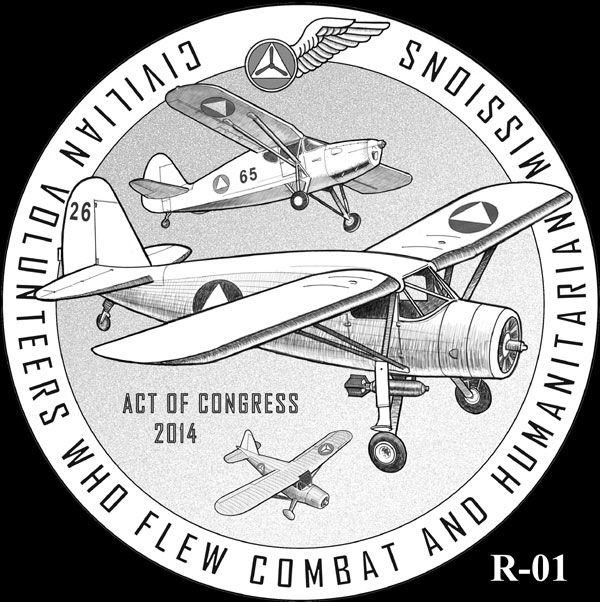 Patrulla Aérea Civil, USA, creada en 1941 para servicios anti-submarinos, urgentes y de correo en la II Guerra Mundial