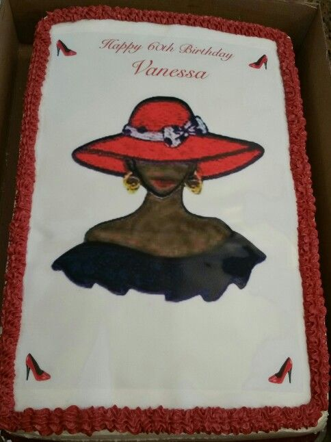 17 Best Images About Red Hat Society Cakes Cupcakes Etc