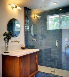 Mid Century Modern Bathroom Tile