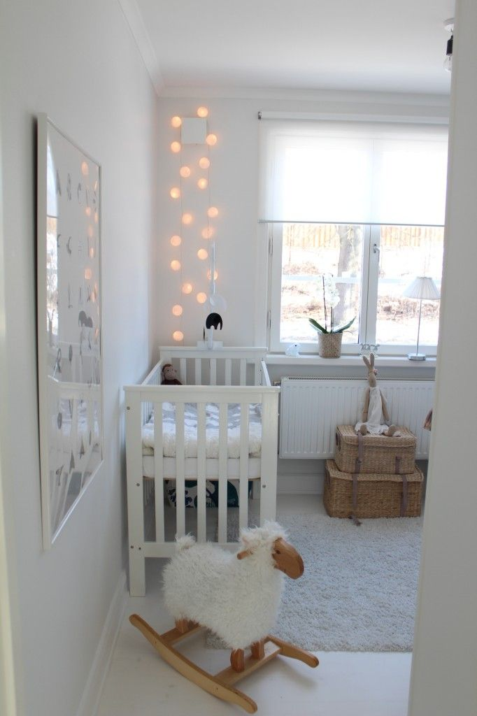 nursery. white. scandinavian.