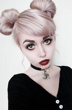 Hair/makeup. I don't know if this would fit, but I figured if anyone would have this hair it would be Cori
