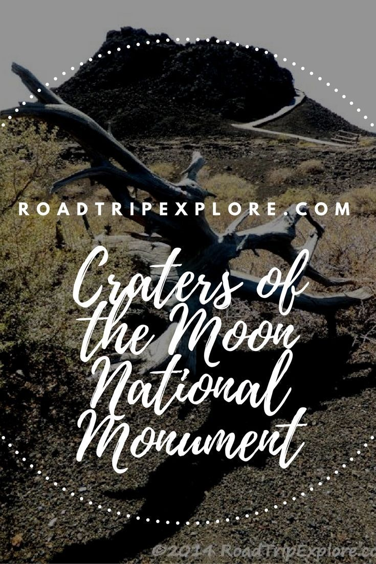 Imagine a terrain blackened with cinder, pumice and lava flows as far as the eye can see! | Craters of the Moon National Monument, Idaho USA | RoadTripExplore.com