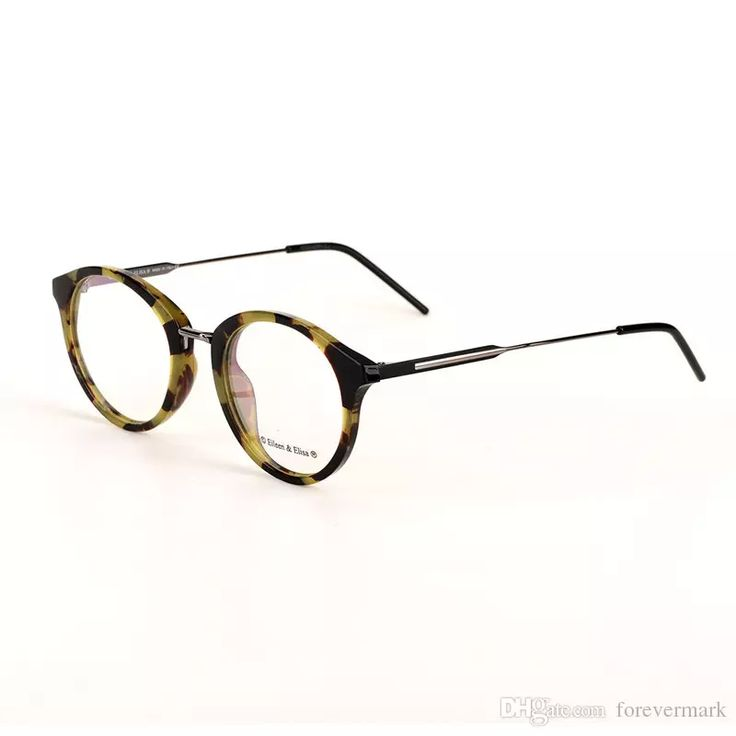 2017 Vintage Optical Glasses Frame Round Style With Acetate Mix Alloy Myopia Glasses Frame Readign Glasses Prescription Lens Optical Glasses Frame Brand Designer Glasses Frame Prescription Lens Glasses Online with $66.29/Piece on Forevermark's Store | DHgate.com