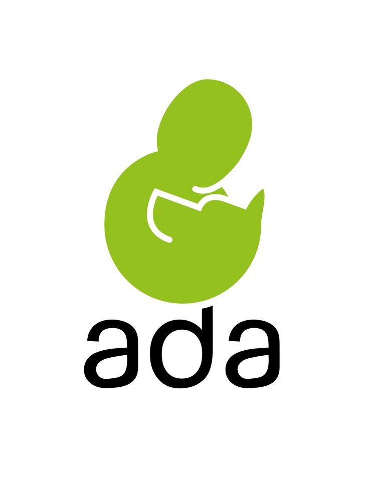 Logotipo para la fundacion ADA (Asociasión Defensora de Animales)
