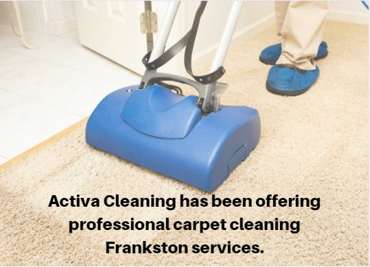 #Activa #Cleaning has been offering professional #carpet #cleaning #Frankston #services. It is our aim to take care of your #residential and #commercial cleaning needs at the most competitive and affordable prices.https://www.activacleaning.com.au/carpet-cleaning-frankston/