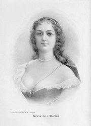 Scandalous Women: Ninon de Lenclos, Mademoiselle Libertine: http://scandalouswoman.blogspot.com/2007/11/ninon-de-lenclos-mademoiselle-libertine.html