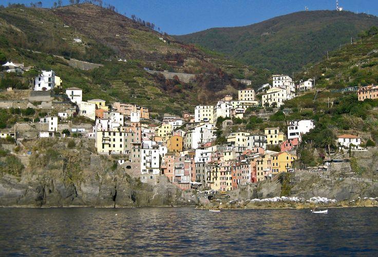 Riomaggiore, the southernmost village in Cinque Terre