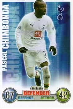 2007-08 Topps Premier League Match Attax #276 Pascal Chimbonda Front