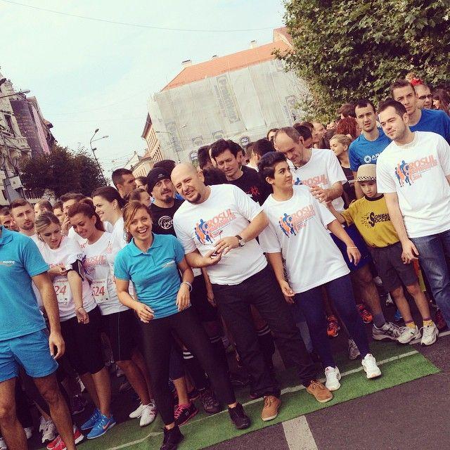 Am alergat la Crosul Companiilor Cluj!