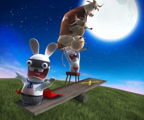 dont miss the full moon rabbid party ( rabbids only unless ...