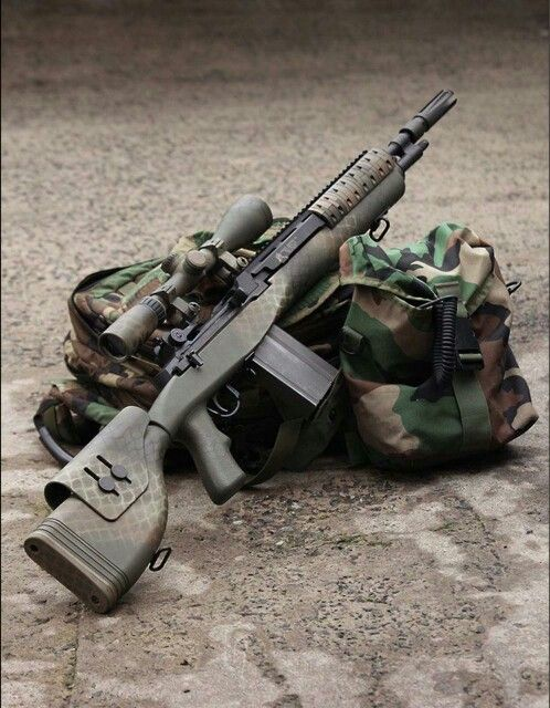 Tactical Springfield Armory M1A my fave!