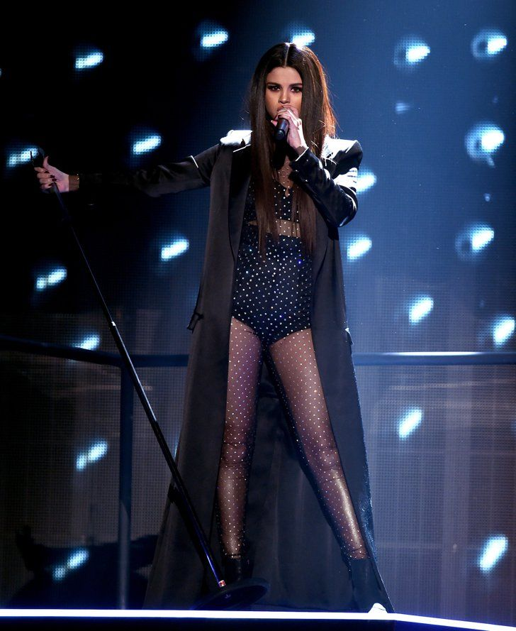 Pin for Later: It's a Damn Good Thing Selena Gomez Slipped Off Her Tuxedo Jacket