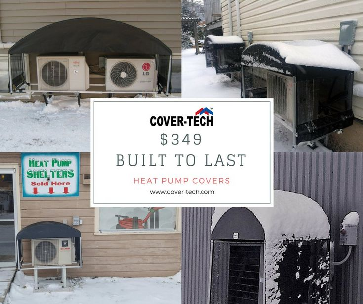 Our Heat Pump Cover serves to prevent snow drifting by cutting down on wind blow through. Avoid costly Breakdowns and Service Calls. 7 year pro rated warranty on the cover versus UV damage; 1 year manufacturers warranty on all parts. Dealers Wanted! #heatpumpcover #heatpump