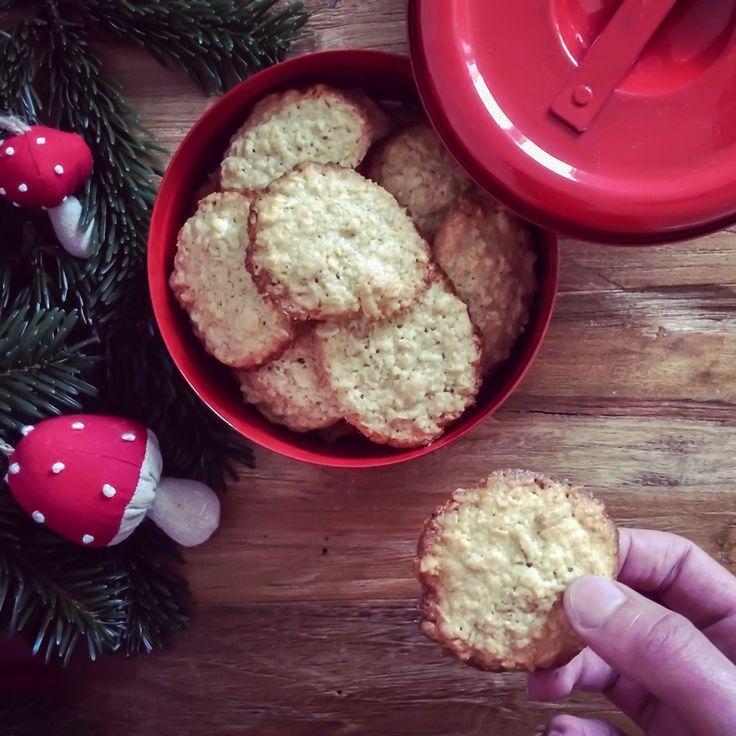 Advent, Advent: Rezept für köstliche Hafermakronen mit Schokolade