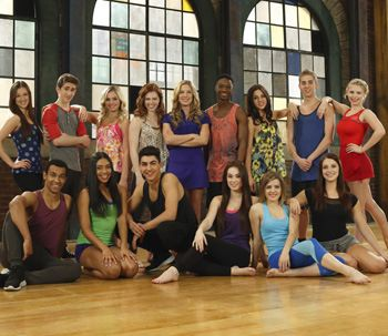 The Next Step season 3-Miss eldon and Michelle together but Thalia and Eldon!!Aw.Giselle is dance captain?Yayay I think the character deserves it. Love tns <3