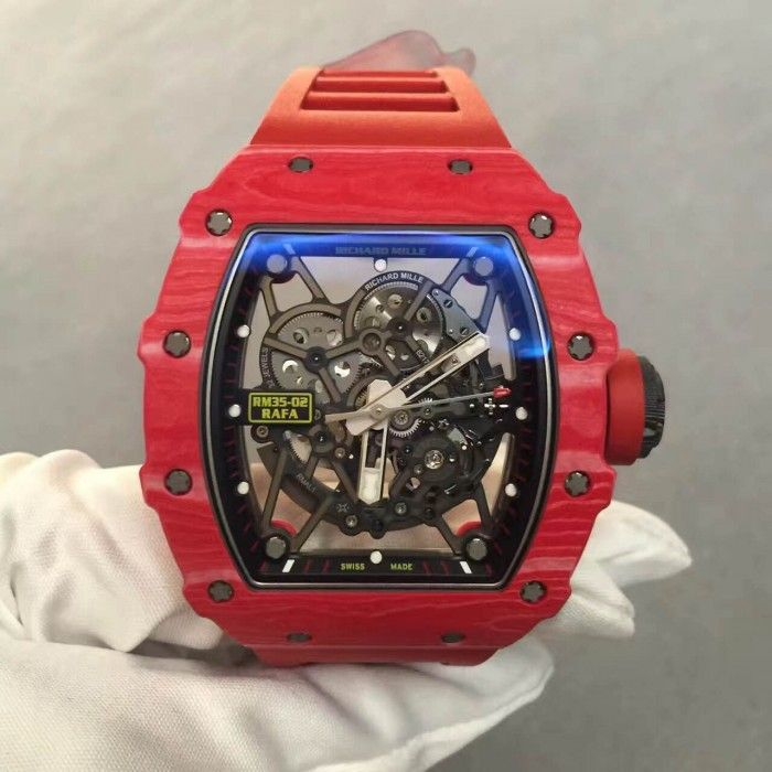 Richard Mille [NEW] RM 35-02 Rafael Nadal Auto Quartz-TPT Red Version (Retail:US$131,000)   OUR PRICE: HK$948,000.     #RM #RICHARDMILLE #RICHARD_MILLE #RafaelNadal #Rafael_Nadal #RMRafaelNadal #RM_Rafael_Nadal #richardmilleRafaelNadal  #richard_mille_Rafael_Nadal #RM3502 #RM35_02 #RM_35_02 #RM3502Red #RM35_02_Red #RM_35_02_Red