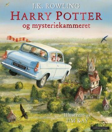 Harry Potter bok 2 i illustrert utgave