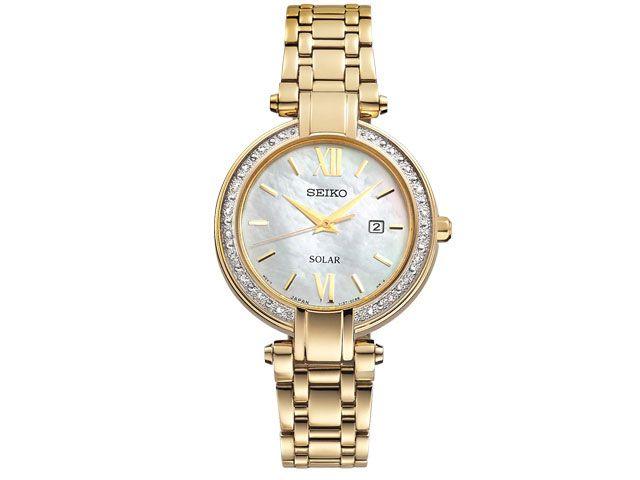 Seiko SUT182P9 Ladies Gold Plated Bracelet Watch - 237822