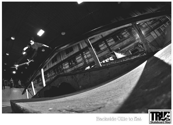 In TrueSkateboardMag. My shot.